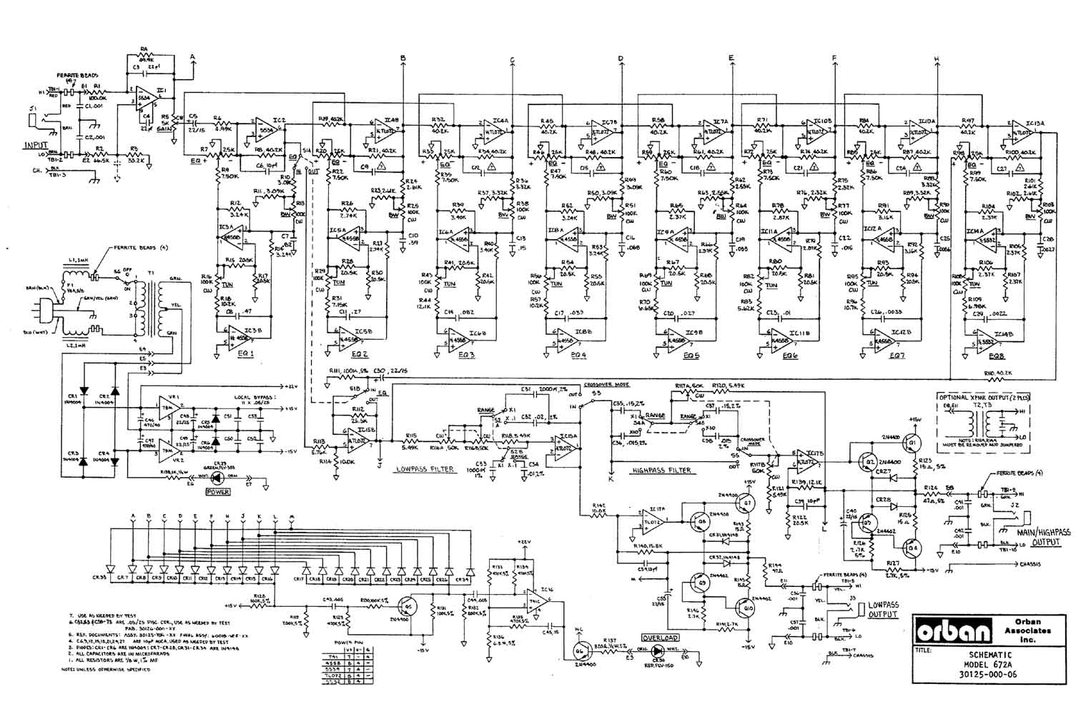 orban 672a equalizer schematic