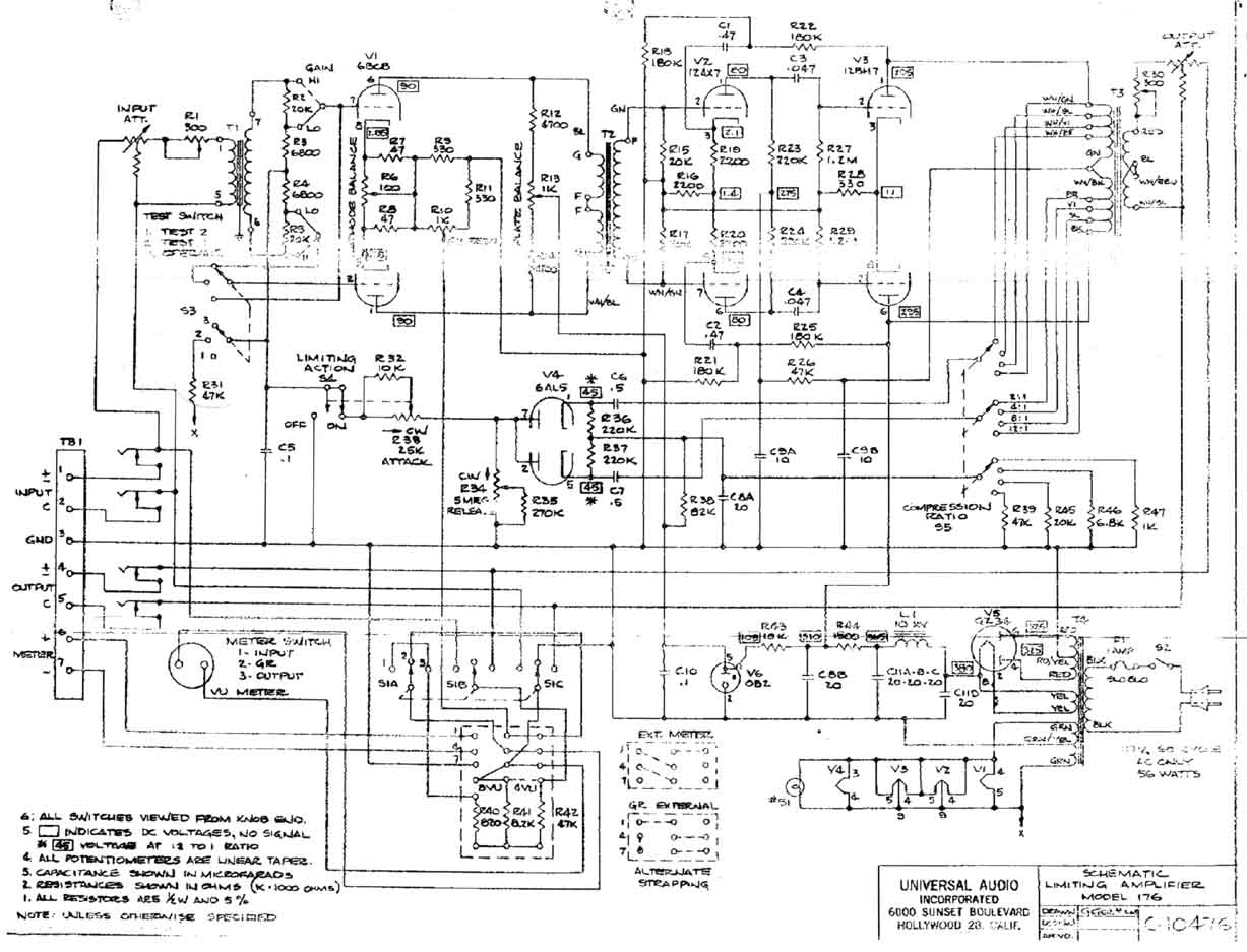 audio amp diagram