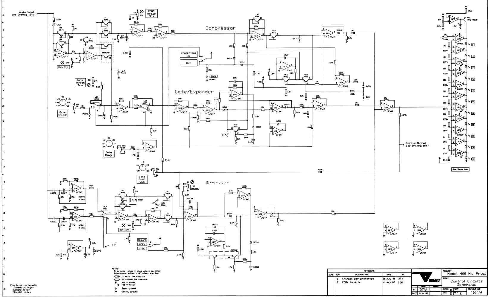 valley 400 mic processor schematic
